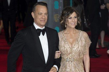 Tom Hanks Red Carpet Arrivals at the BAFTAs