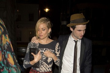 Tom Sturridge Celebs at the AnOther Magazine Party