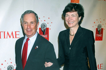 Michael Bloomberg Diana Taylor Time 100 Awards