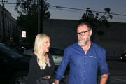 Tori Spelling and Dean McDermott are seen in Los Angeles, California.