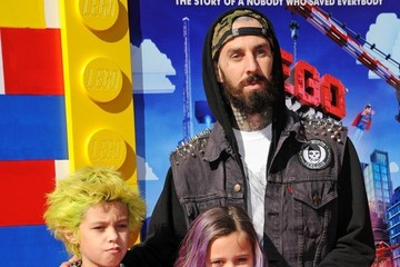 "Travis Barker ""The Lego Movie"" Premiere"