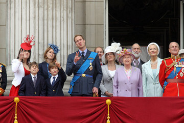 """Queen Elizabeth II Princess Beatrice """"Trooping the Colour"""" Parade"""