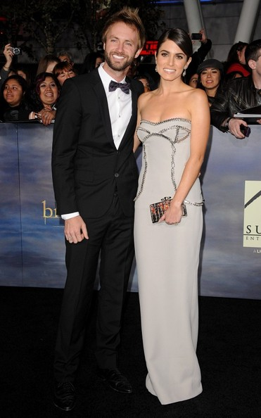 """World Premiere of """"The Twilight Saga: Breaking Dawn - Part 2""""..Nokia Theatre L.A. Live, Los Angeles, CA..November 12, 2012..Job: 121112A1..(Photo by Axelle Woussen)..Pictured: Nikki Reed and Paul McDonald."""