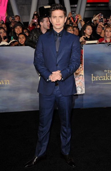 """World Premiere of """"The Twilight Saga: Breaking Dawn - Part 2""""..Nokia Theatre L.A. Live, Los Angeles, CA..November 12, 2012..Job: 121112A1..(Photo by Axelle Woussen)..Pictured: Jackson Rathbone."""