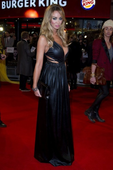 14/11/2012. 'The Twilight Saga Breaking Dawn Part 2' UK Premiere at The Odeon Leicester Square.Pictured: Lauren Pope.