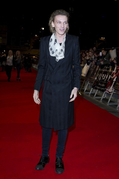 14/11/2012. 'The Twilight Saga Breaking Dawn Part 2' UK Premiere at The Odeon Leicester Square.Pictured: Jamie Campbell Bower.