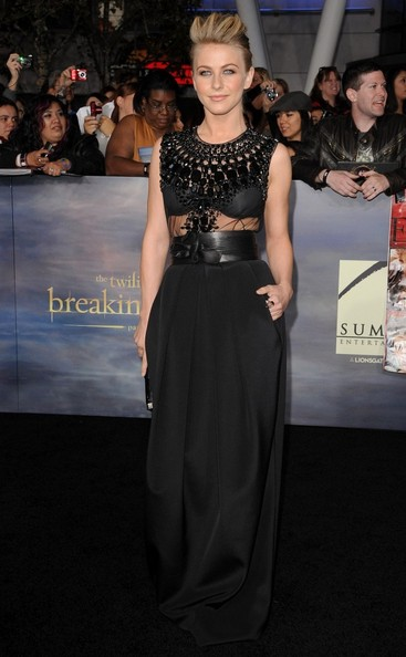 """World Premiere of """"The Twilight Saga: Breaking Dawn - Part 2""""..Nokia Theatre L.A. Live, Los Angeles, CA..November 12, 2012..Job: 121112A1..(Photo by Axelle Woussen)..Pictured: Julianne Hough."""
