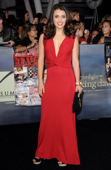 """World Premiere of """"The Twilight Saga: Breaking Dawn - Part 2""""..Nokia Theatre L.A. Live, Los Angeles, CA..November 12, 2012..Job: 121112A1..(Photo by Axelle Woussen)..Pictured: Andrea Gabriel."""