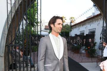 Tyson Ritter Tyson Ritter Outside The Hearth And Hound In Hollywood