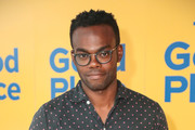 William Jackson Harper is seen attending the FYC screening of Universal Television's 'The Good Place' at UCB Sunset Theater in Los Angeles, California.