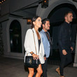 Val Chmerkovskiy Val Chmerkovskiy And Jenna Johnson Are Seen Outside Craig's Restaurant In West Hollywood