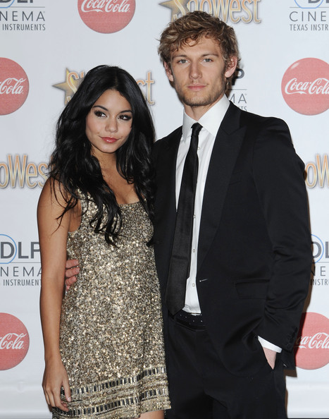 Alex Pettyfer and Vanessa