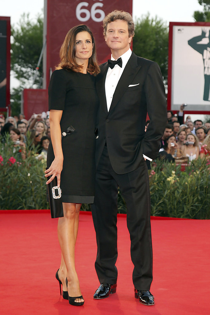 Colin Firth and wife L...