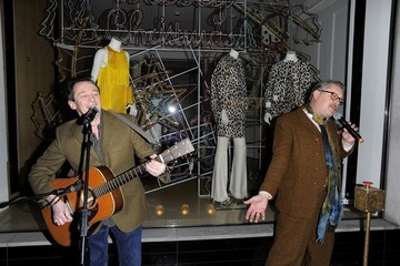 Vic Reeves Celebs at Stella McCartney's Christmas Lights Party