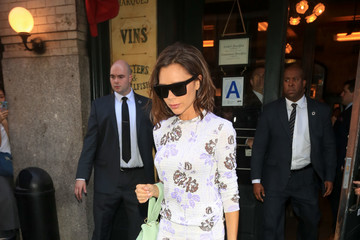 Victoria Beckham The Beckhams Out in New York City