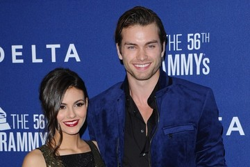 Victoria Justice Pierson Fode Arrivals at Delta Air Lines Grammy Party