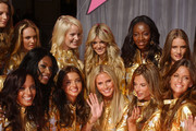 Victoria's Secret Angels reveive Award of Excellence in celebration of Victoria's Secret 25th Anniversary.Kodak Theatre, Hollywood, CA.November 13, 2007.