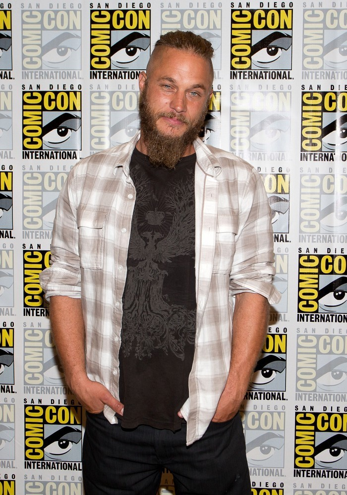Travis fimmel wedding