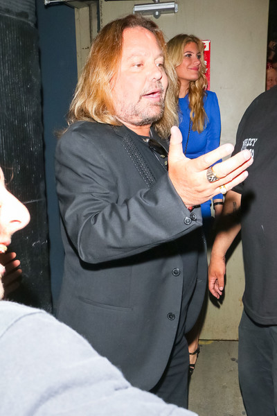 Vince Neil Is Seen At Whisky A Go Go In West Hollywood