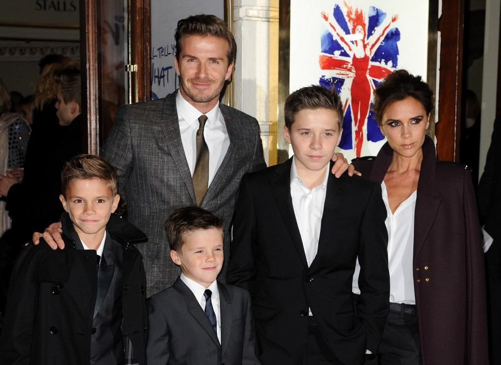 Victoria beckham dating history
