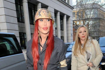 Pete Burns Vivienne Westwood London Fashion Week 2012