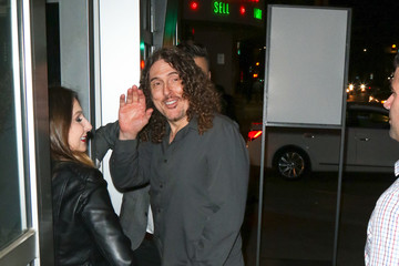 Weird Al Yankovic Celebrities Are Seen Outside ArcLight Theatre