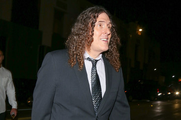 Weird Al Yankovic Stars Visit 'Hamilton' at Pantages Theatre