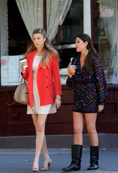Whitney Port and Roxy Olin Film 'The City' []