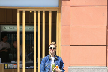 Whitney Port Whitney Port Takes a Casual Stroll