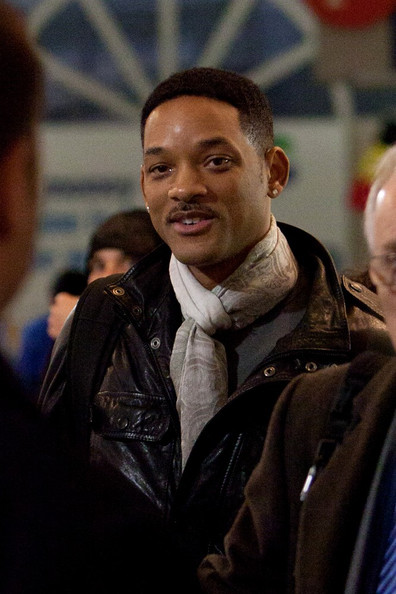 will smith family 2009. hair will smith family 2009.