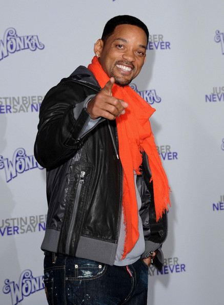 "Will Smith Los Angeles Premiere of ""Justin Bieber: Never Say Never"". Nokia"