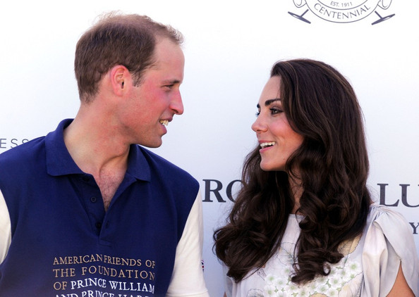 Kate+Middleton in Famous Fans at The Foundation Polo Challenge
