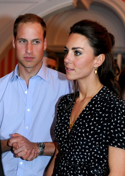 Prince William and Kate Middleton at a Youth Reception - 1 of 13