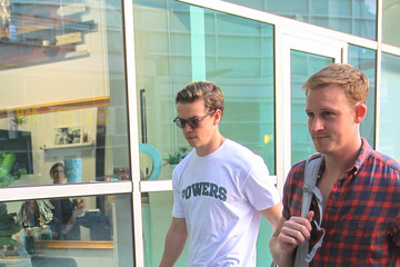 Will Poulter Will Poulter outside ArcLight Cinemas in Hollywood
