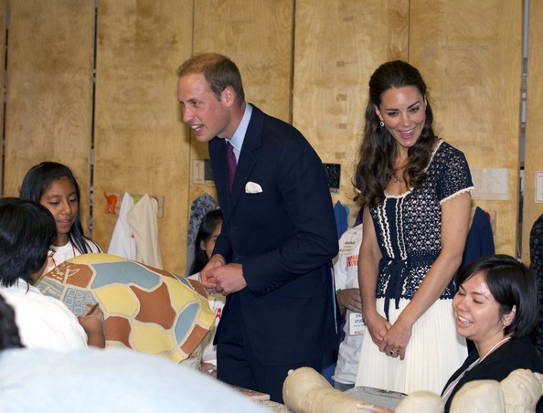 Prince William and Kate Middleton at Inner City Arts Youth Project