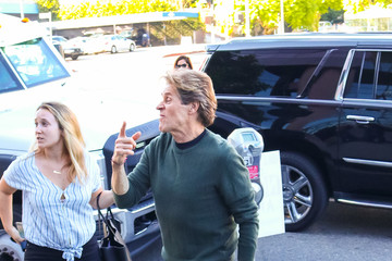 Willem Dafoe Willem Dafoe Hits DGA Theatre In West Hollywood
