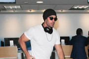 William Levy Hits LAX