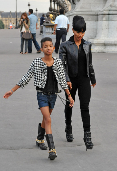 will smith family pics. Willow Smith Will Smith and