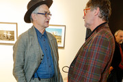 Wim Wenders and Peter Coeln are seen at Exhibition opening 'Early Photographs 1963-1983' and retrospective at Film Archive Austri at the Metro Kinoulturhaus .