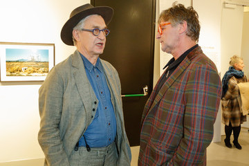 Wim Wenders Wim Wenders Exhibition Opening 'Early Photographs 1963-1983'