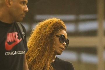 Wissam Al Mana Janet Jackson and Wissam Al Mana Are Seen Departing from LAX