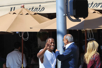Won-G Bruny Won-G Bruny Spends Time in Beverly Hills