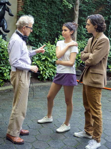 On the Set of Woody Allen's New Film []