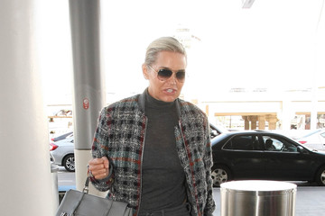 Yolanda Foster Yolanda Foster Is Seen at LAX