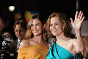 Sigourney Weaver and Odette Annable Photos Photo