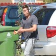 Zac Efron Gets Ready for Work