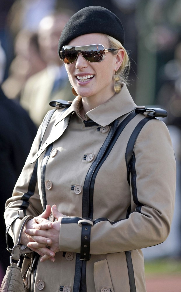 Zara Phillips At The Cheltenham Festival Zimbio