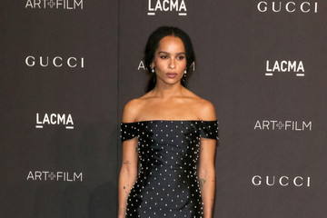 Zoe Kravitz 2018 LACMA Art Film Gala Honoring Catherine Opie And Guillermo Del Toro Presented By Gucci