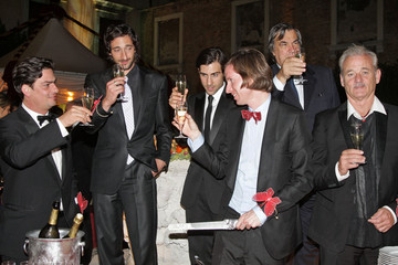 Adrien Brody Wes Anderson The party train rolls for 'Darjeeling'