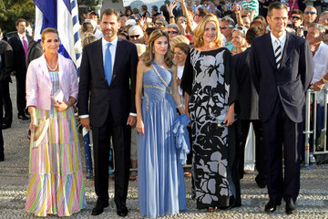 Infanta Cristina of Spain A very royal wedding for Prince Nikolaos